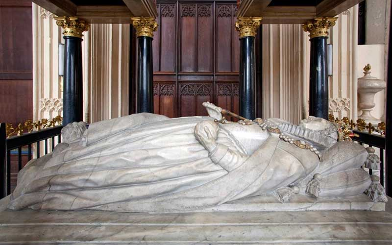Elizabeth I Tomb Effigy