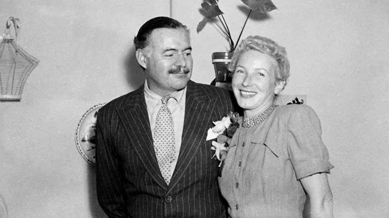 Ernest and Mary Welsh Hemingway