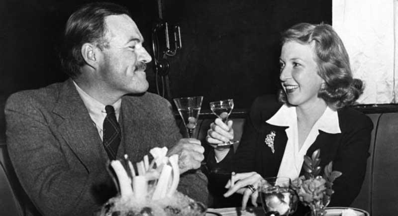 Hemingway and Martha Gellhorn