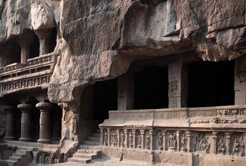 A part of Kailash Temple