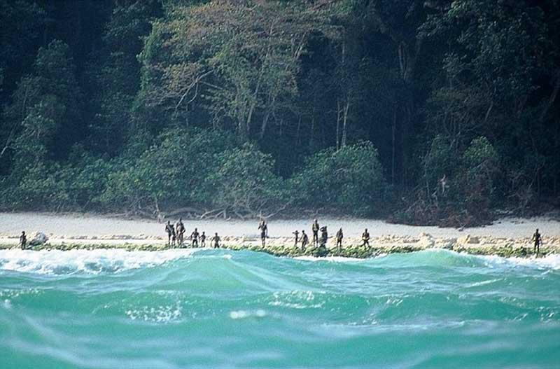 North Sentinel Island India