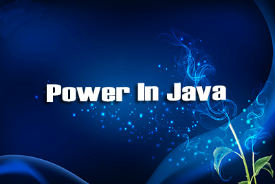 Power Java