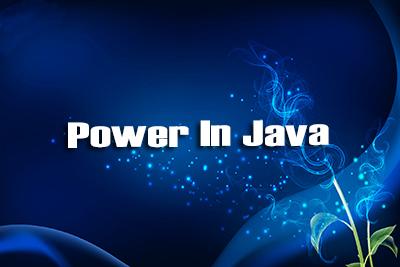 Power Java