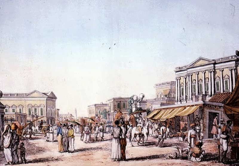 The White Town of Calcutta