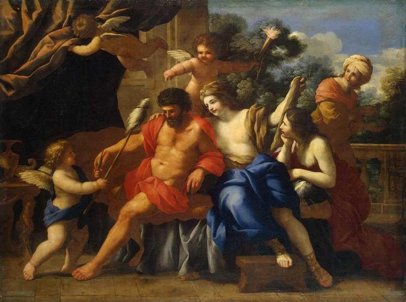 Giovanni Francesco Romanelli (Italy 1610-1662)