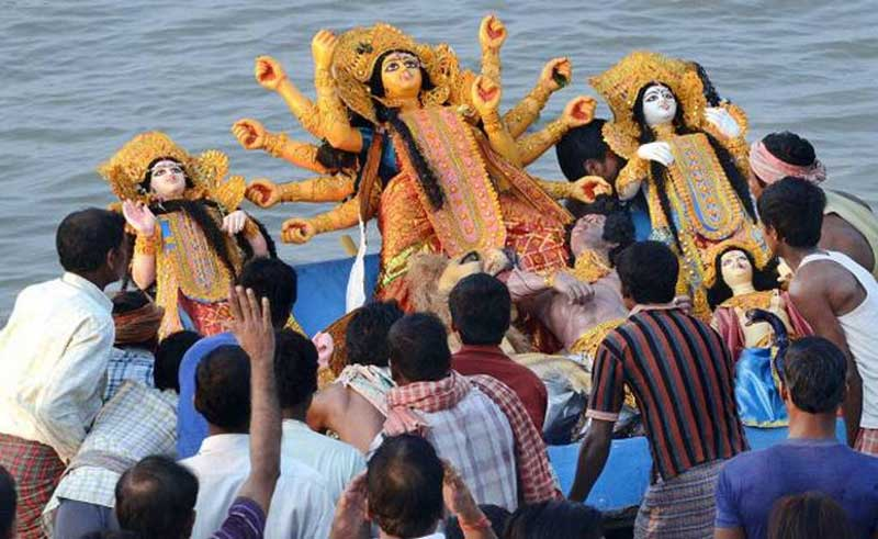 Durga Puja Immersion