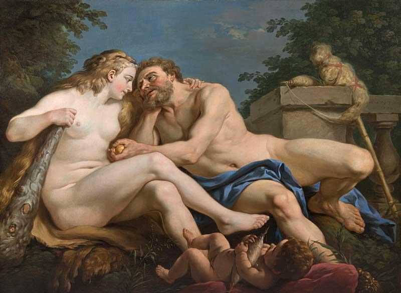 Louis Jean Francois lagrenee (Fr 1725 - 1805)