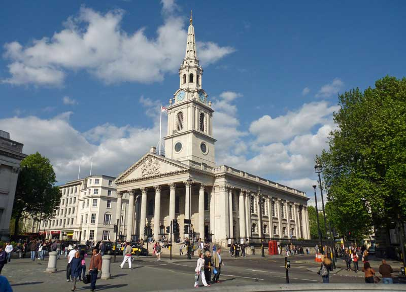 St. Martin-in-the-Fields in London