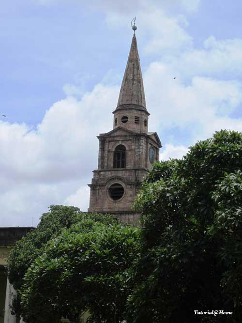 The clock Tower, St John's Church