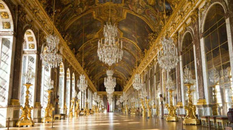 Hall of Mirrors - Palace of Versailles