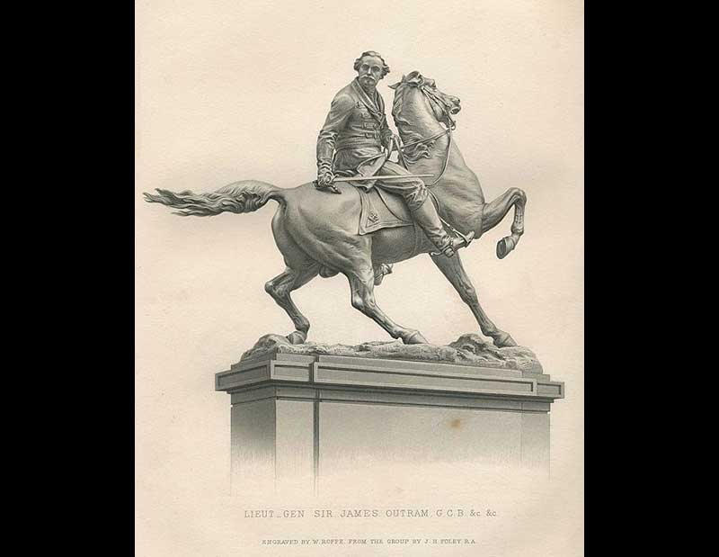 Statue of General Sir James Outram