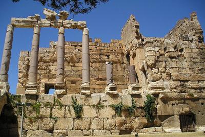 Temples Baalbeck Lebanon