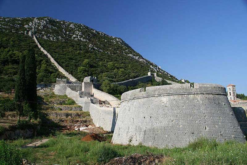 Walls Of Ston Croatia