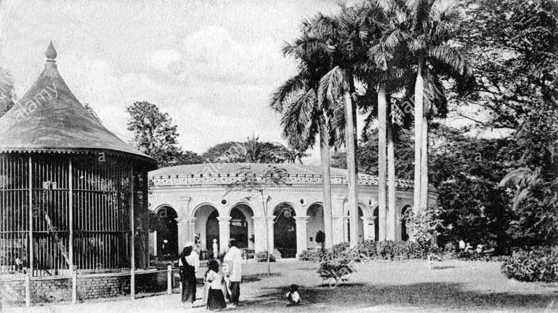 Zoological Garden Calcutta - Old Picture
