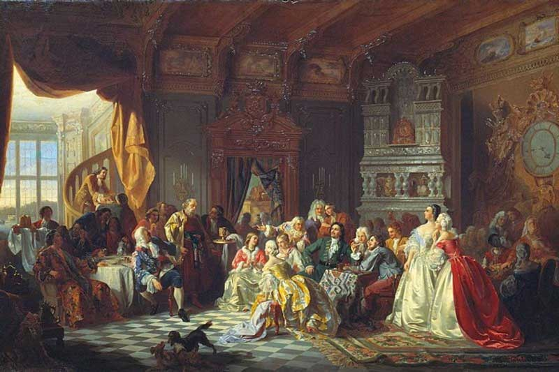 Assembly before Peter the Great, by Stanisław Chlebowski