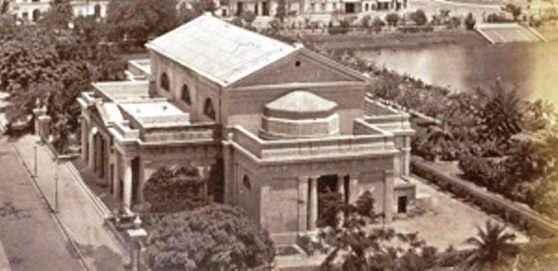 The Dalhousie Institute - aerial view