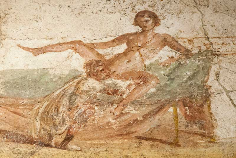 Eroticism In Pompeii