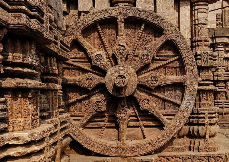 Exquisite Wheel of the Chariot