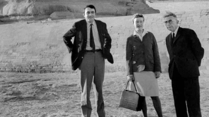 Lanzmann, Simone & Sartre in Egypt