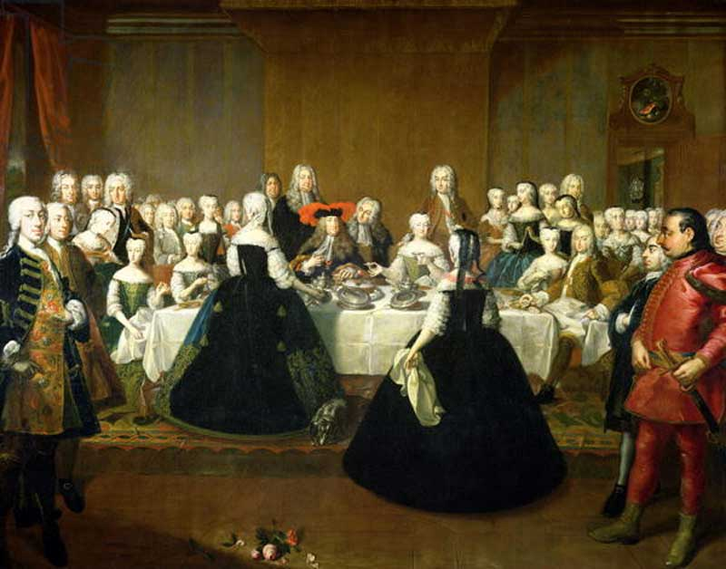Maria Theresa and Francis Stephen at their wedding