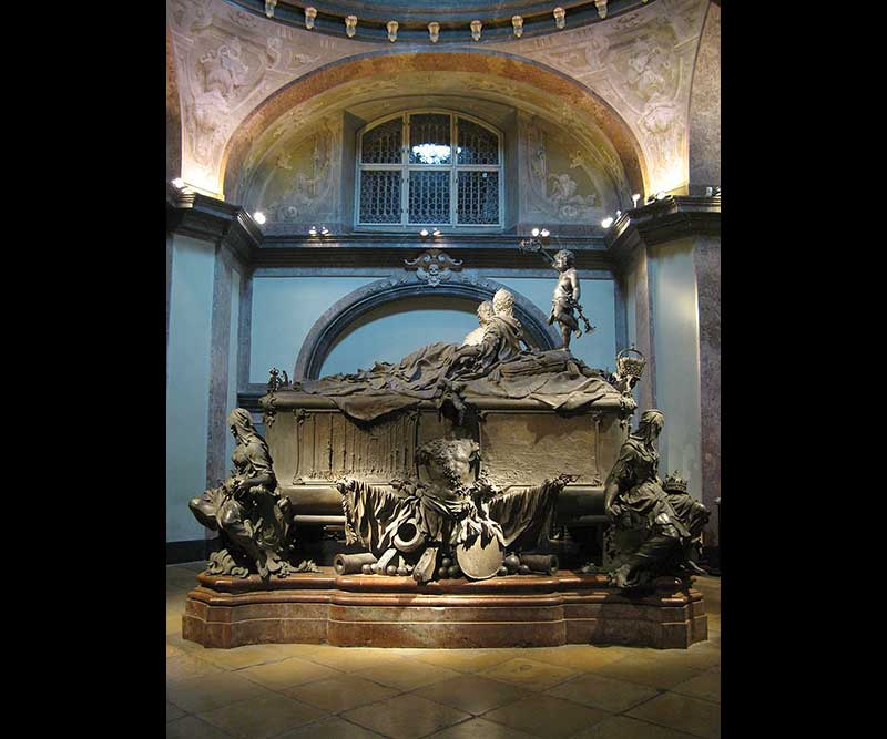 Double tomb of Maria Theresa and her husband