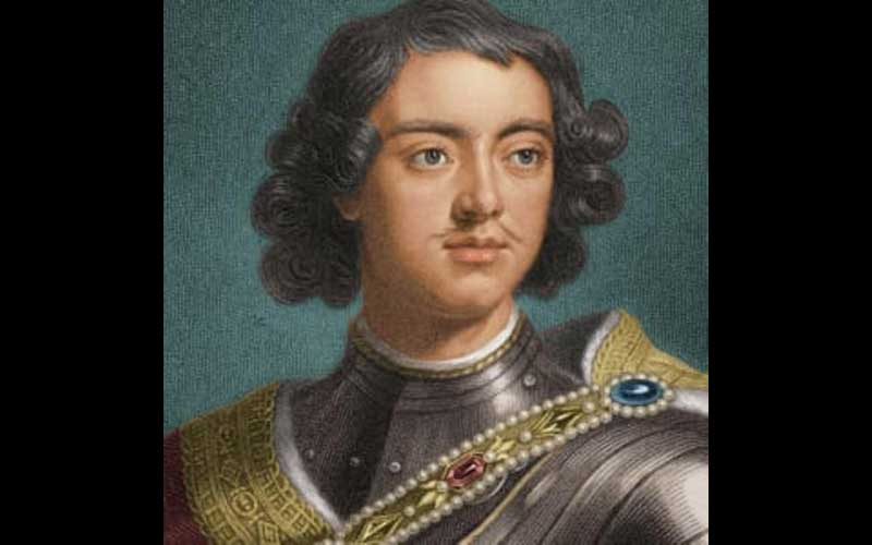 Peter the Great at an young age
