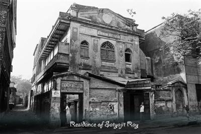 Satyajit Ray Calcutta