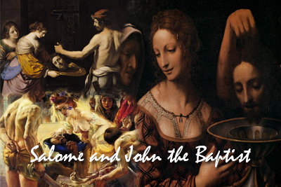 Salome John Baptist Paintings