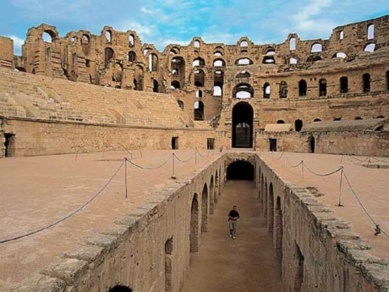 Inside the Amphitheatre