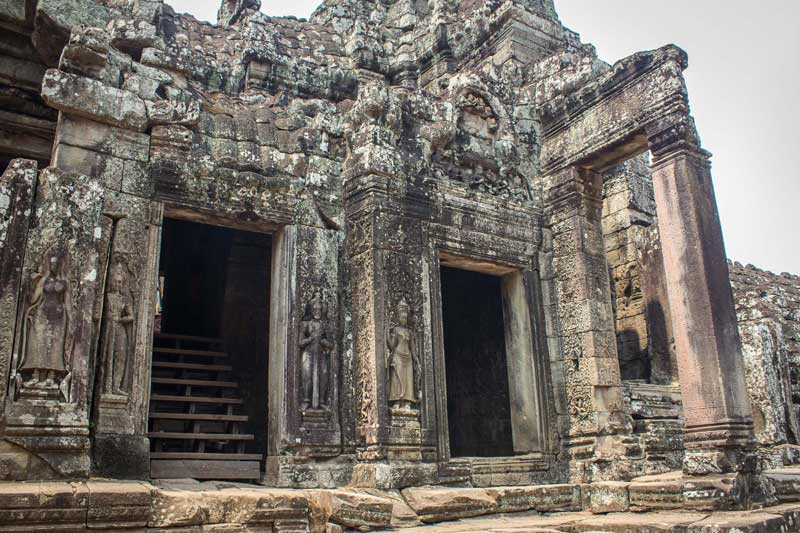 The Bayon - a portion