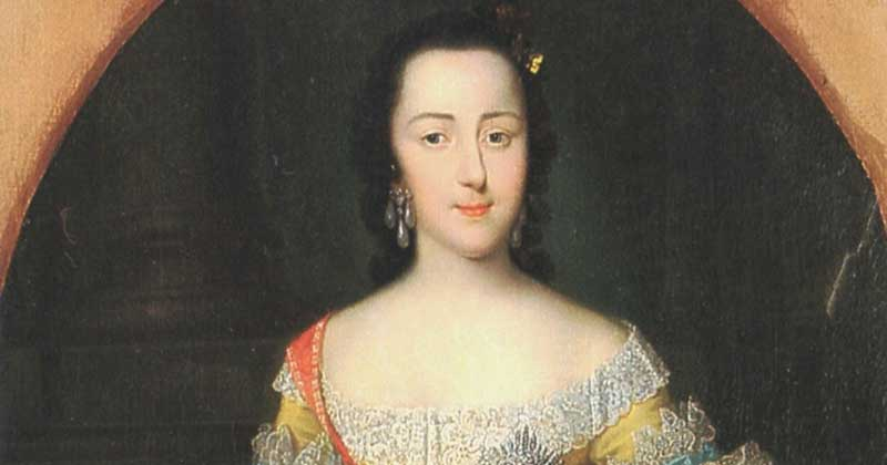 Catherine the Great at her young age