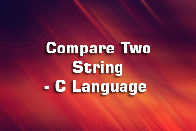 compare two string