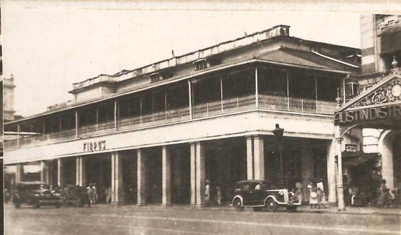 Firpo's Restaurant - around 1817