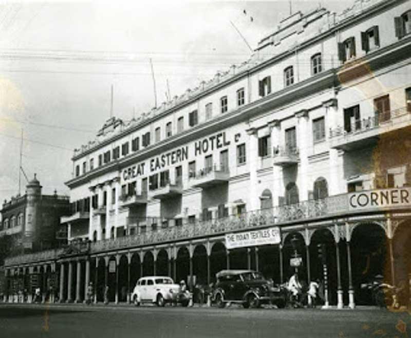 Great Eastern Hotel in 1945