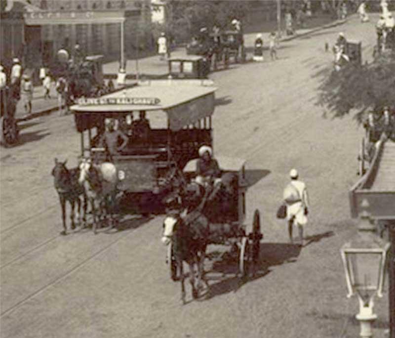 Armenian Ghat Horse drawn Tram