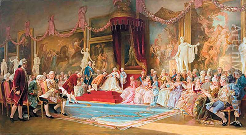 Inauguration of the Academy of Arts, 7 July 1765