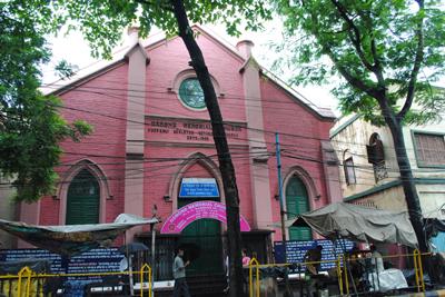 Osmond Memorial Church Calcutta