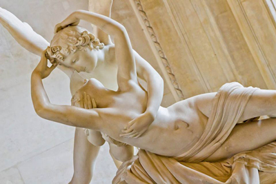 Psyche Revived Cupids Kiss
