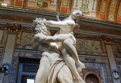 Rape Proserpina Sculptures