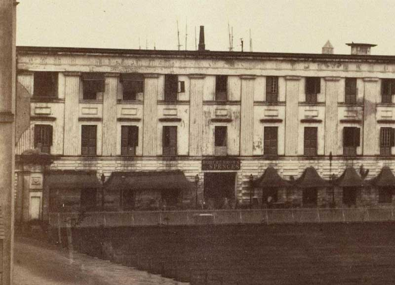 Spence's Hotel   (1858-1861)