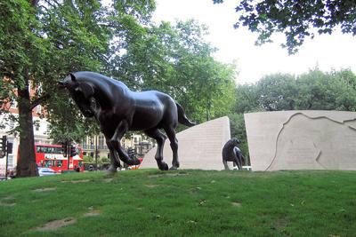 Animal War Memorial London