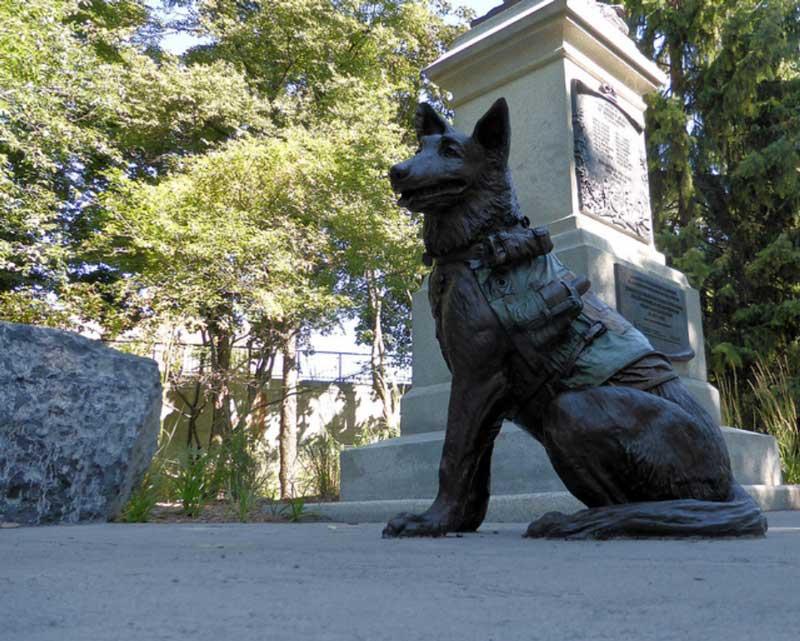 Animals In War Memorial London