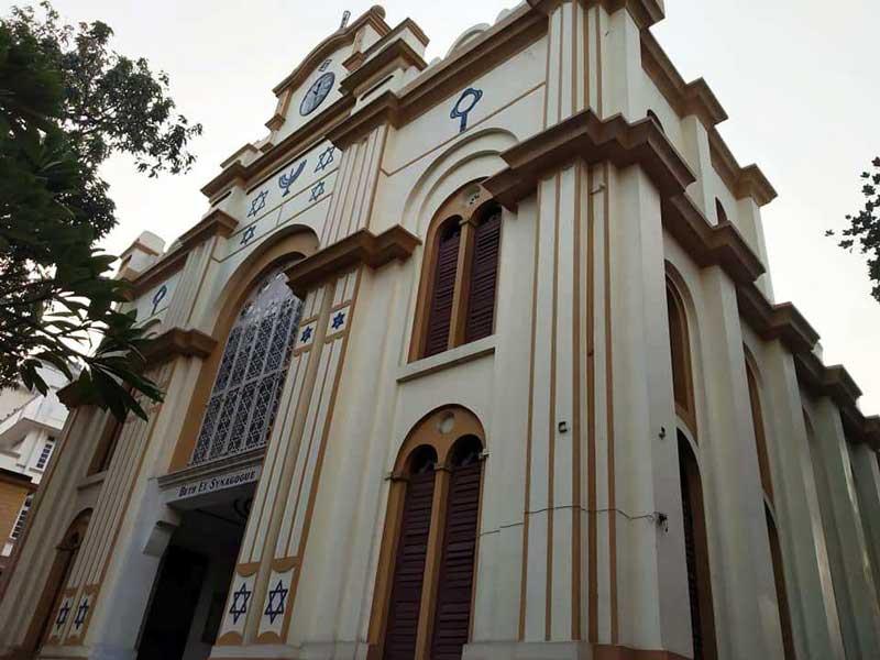 Beth El Synagogue, angular view