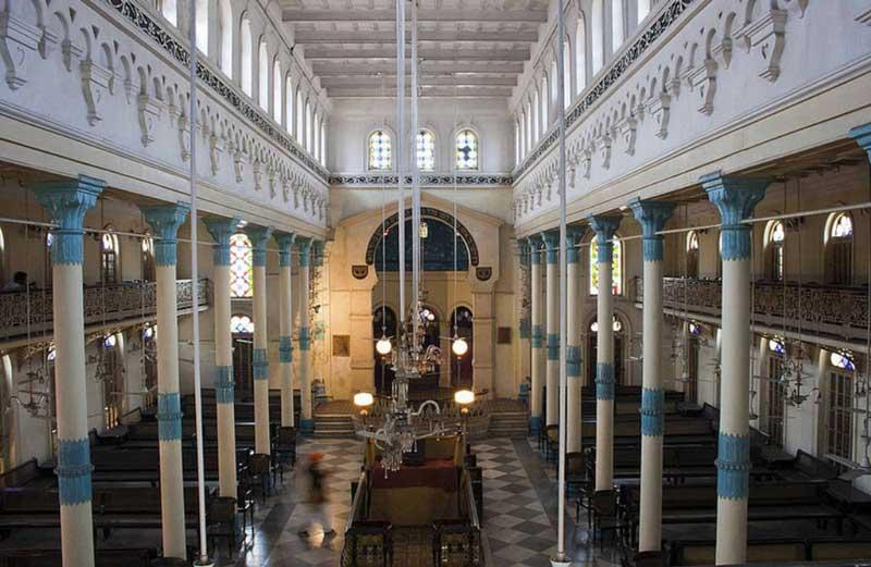 The prayer hall, Beth El Synagogue
