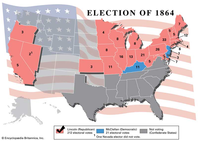 election 1864 US