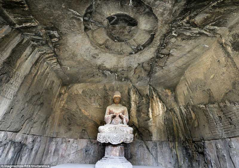The Royal Cave Temple in the Longmen Grottoes
