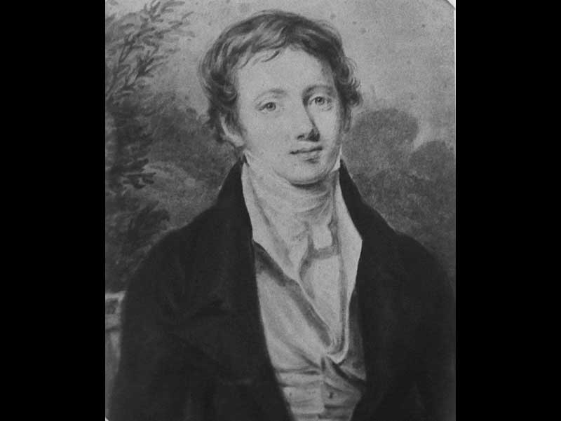 Young James drawn by his sister Emily