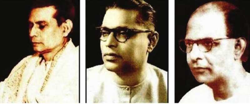 Birendra Krishna Bhadra, Pankaj Kumar Mullick and Bani Kumar
