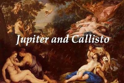 Jupiter Callisto Paintings