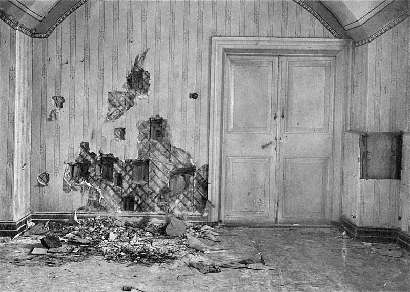 The basement where the Romanov family was killed